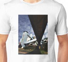 Port grain loading facility Unisex T-Shirt