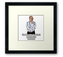 Arrested Development-Tobias Framed Print