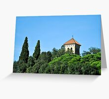 Tossa De Mar, Costa Brava, Spain Greeting Card
