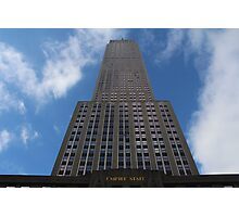 The Empire State- Ground Level Photographic Print