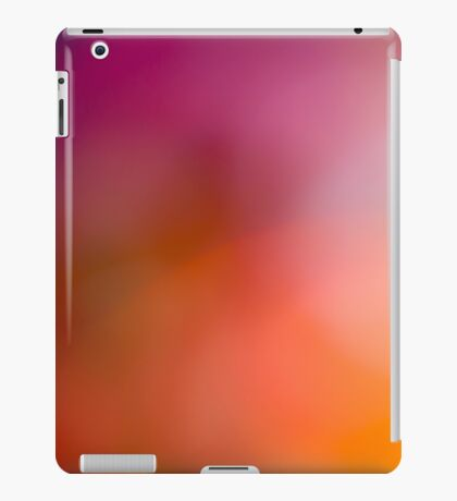 Abstract brilliant colorful abstract in red iPad Case/Skin