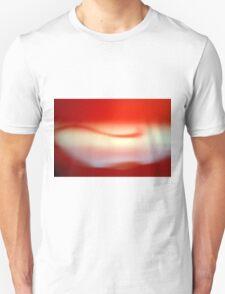 Abstract brilliant colorful abstract in red Unisex T-Shirt