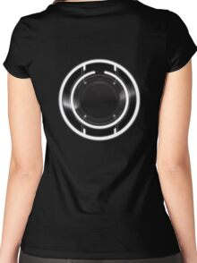 Tron Legacy Identity Disc Women's Fitted Scoop T-Shirt