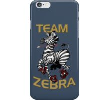 Team Zebra iPhone Case/Skin
