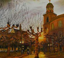 Faith on a Frankfurt Afternoon by mitzisan