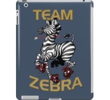 Team Zebra iPad Case/Skin