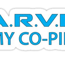 J.A.R.V.I.S. is my co-pilot Sticker