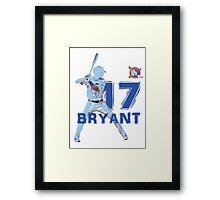 Chicago Cubs Kris Bryant Framed Print
