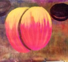 Peach & plums by Frankmurray