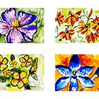 Wildflower Quartet 1 by elee