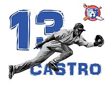 Chicago Cubs Starlin Castro by ABaroneWT