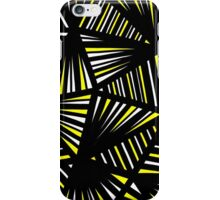 Welby Abstract Expression Yellow Black iPhone Case/Skin