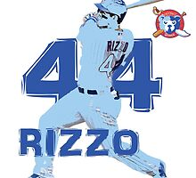 Chicago Cubs Anthony Rizzo by ABaroneWT