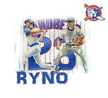 Chicago Cubs Ryne Sandberg by ABaroneWT