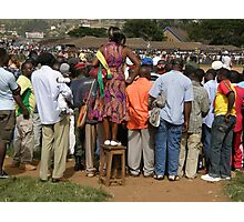 Cameroon soccer Photographic Print
