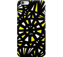 Bianchini Abstract Expression Yellow Black iPhone Case/Skin