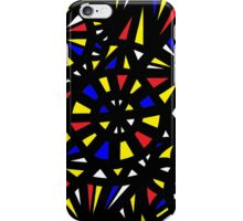 Mcroy Abstract Expression Yellow Red Blue iPhone Case/Skin
