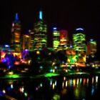 Waterfront At Night by Jurgen  Schulz