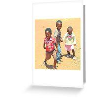 Children of Soweto Greeting Card