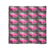 Pink convertible MG classic car Scarf