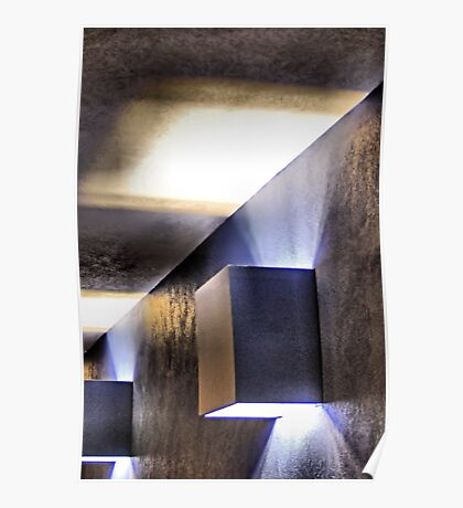 Lights On A Wall Poster