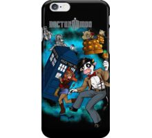 Doctor Moo vs the Baaleks and CyberHens iPhone Case/Skin
