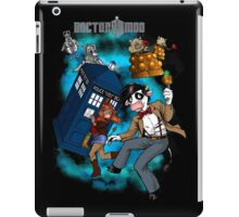 Doctor Moo vs the Baaleks and CyberHens iPad Case/Skin
