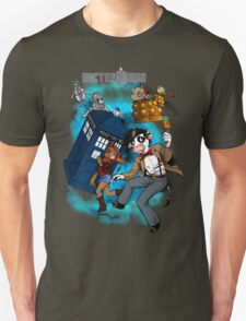 Doctor Moo vs the Baaleks and CyberHens T-Shirt