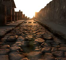 Road to Pompei by Angela King-Jones