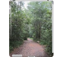 Walk through the forest iPad Case/Skin