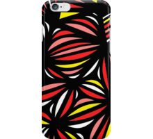 Wyrosdick Abstract Expression Yellow Red Black iPhone Case/Skin