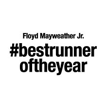 Best Runner of the Year, Floyd Mayweather by silverbrush