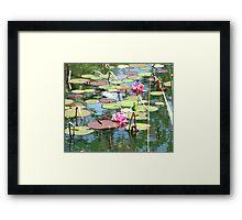 My version of Monet Framed Print