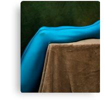 Blue Legs Canvas Print