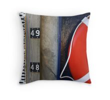 Forty-Eight and a half Throw Pillow