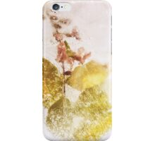 Frozen flowers iPhone Case/Skin