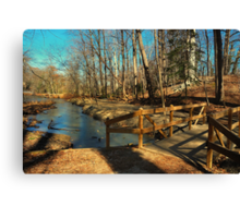 Hopkins Pond Haddonfield NJ Canvas Print