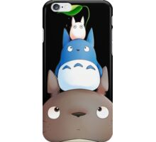 Totoro family iPhone Case/Skin