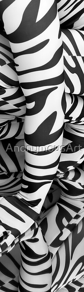 Zebra Abstract by AnonymousArt
