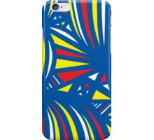 Destro Abstract Expression Yellow Red Blue iPhone Case/Skin