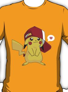 Sweet pokemon pikachu lovely T-Shirt