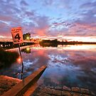 Riverton Bridge Boat Ramp by Geoff White