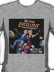 Bill & Ted's Excellent Honors Program (with rating) T-Shirt