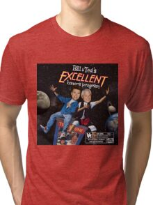 Bill & Ted's Excellent Honors Program (with rating) Tri-blend T-Shirt