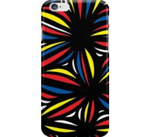 Buland Abstract Expression Yellow Red Blue iPhone Case/Skin
