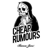 Cheap Rumours Black Photographic Print