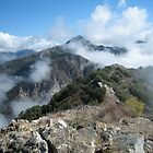 Strawberry Peak With Cloud Dollops by calvinincalif