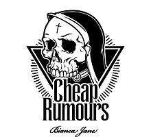 Cheap Rumours Black #2 Photographic Print