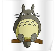 Totoro Lonely Poster