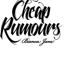 Cheap Rumours Black #4 by Biancajaneaus